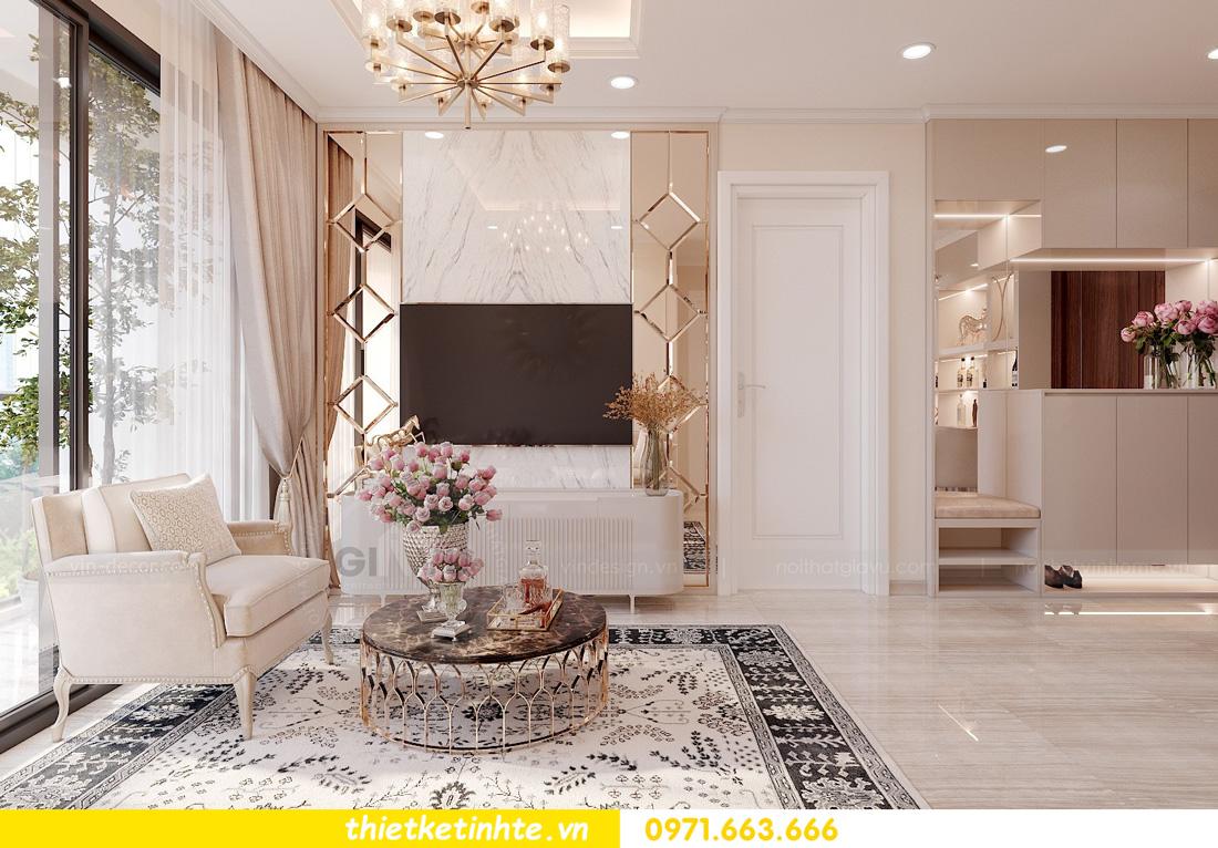 thiết kế nội thất căn hộ chung cư West Point trẻ trung sang trọng 03