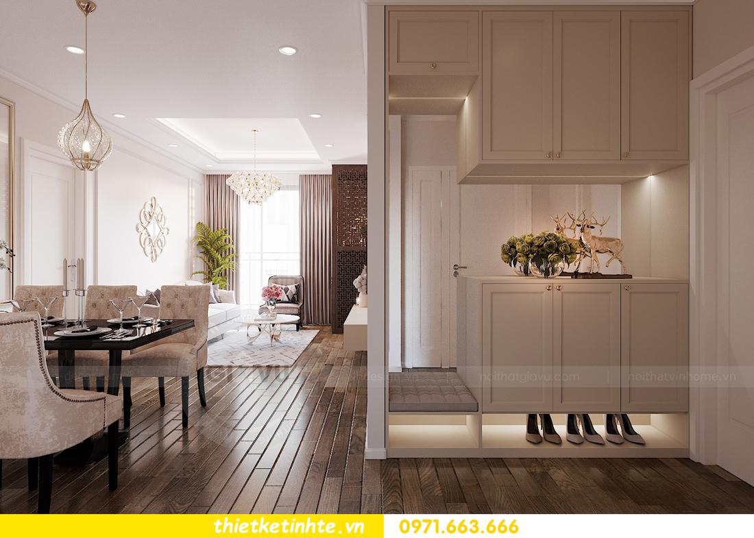 thiết kế nội thất chung cư Imperia Sky Garden nhà chị Vân 1