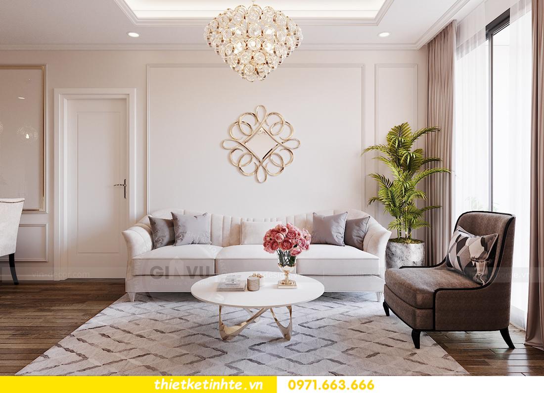 thiết kế nội thất chung cư Imperia Sky Garden nhà chị Vân 4