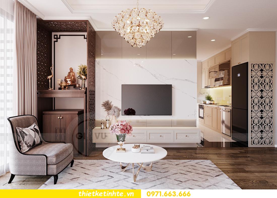 thiết kế nội thất chung cư Imperia Sky Garden nhà chị Vân 5