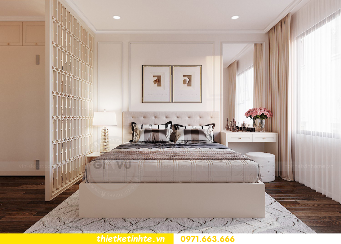 thiết kế nội thất chung cư Imperia Sky Garden nhà chị Vân 9