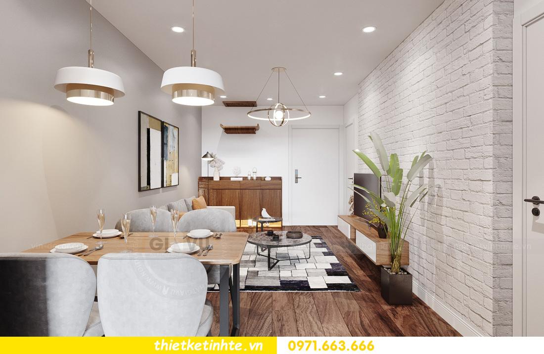 thiết kế nội thất chung cư ocean Park căn hộ 2 phòng ngủ 03