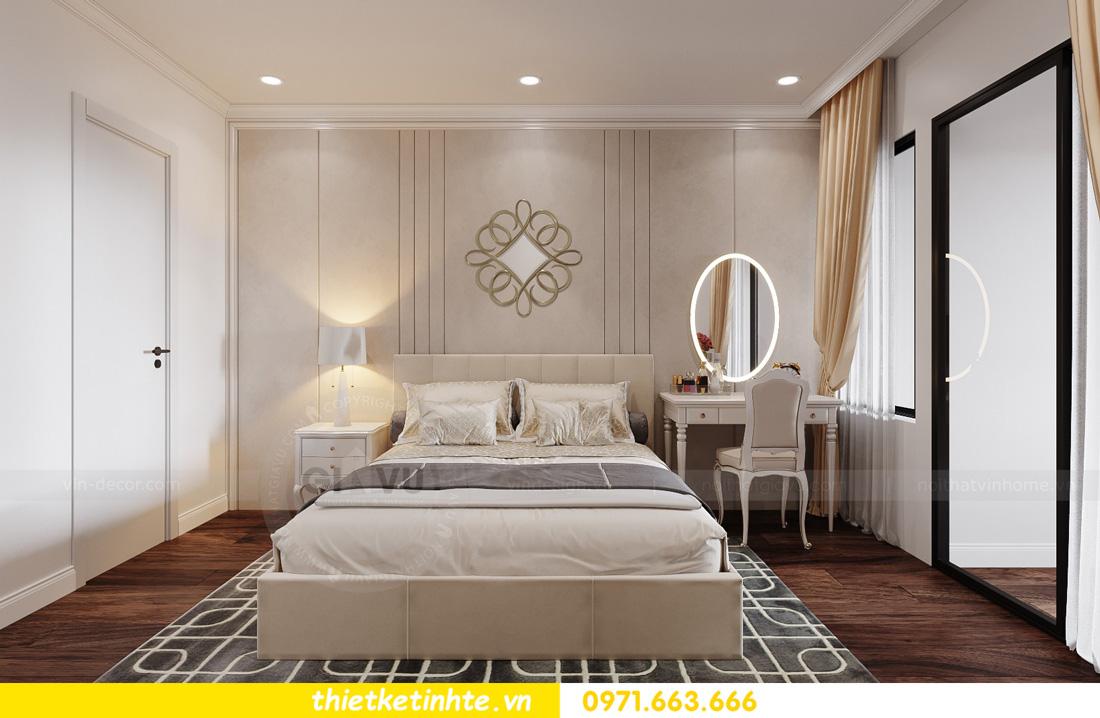 thiết kế nội thất chung cư ocean Park căn hộ 2 phòng ngủ 05
