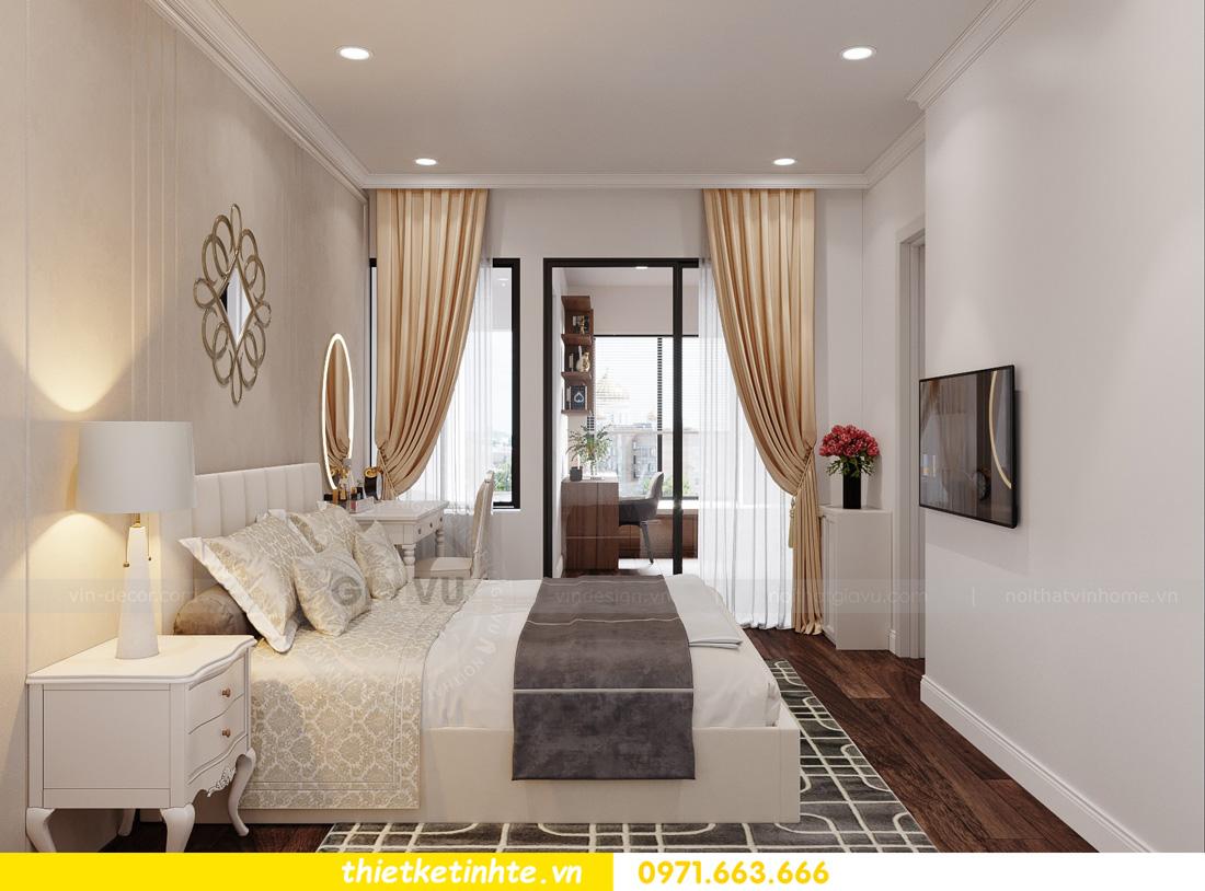 thiết kế nội thất chung cư ocean Park căn hộ 2 phòng ngủ 06