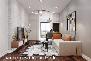 Thiết Kế Nội Thất Chung Cư Ocean Park Căn Hộ 2 Phòng Ngủ