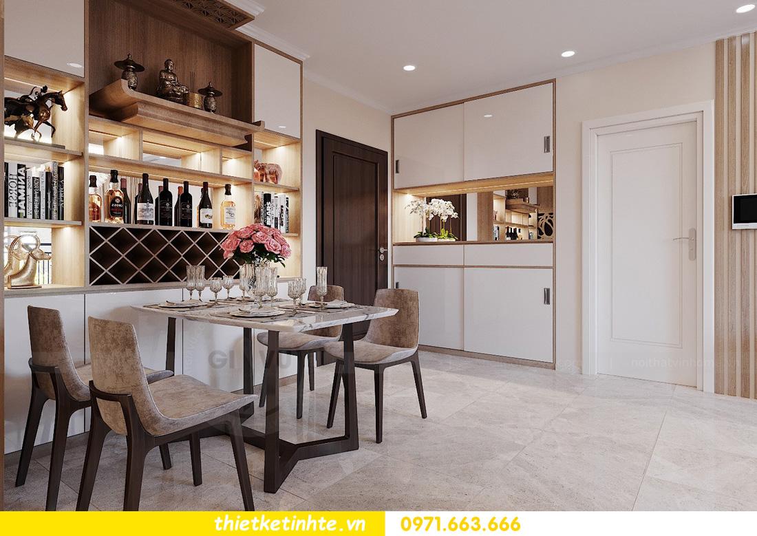 thiết kế nội thất chung cư Vinhomes Ocean Park đẹp hiện đại 01