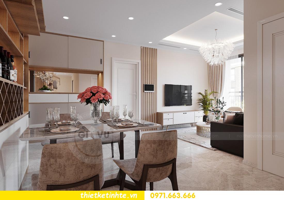 thiết kế nội thất chung cư Vinhomes Ocean Park đẹp hiện đại 02