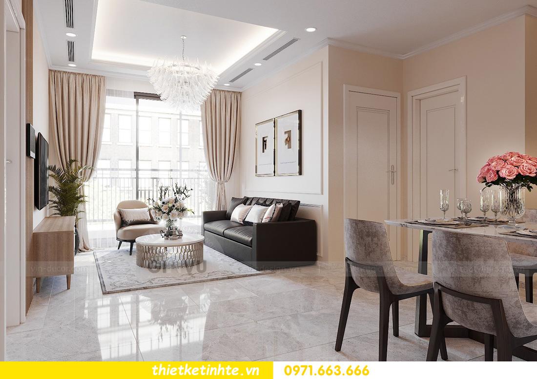 thiết kế nội thất chung cư Vinhomes Ocean Park đẹp hiện đại 04