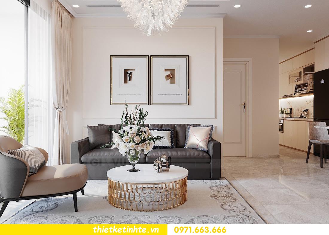 thiết kế nội thất chung cư Vinhomes Ocean Park đẹp hiện đại 05