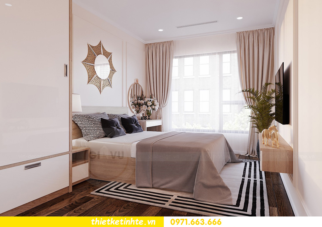 thiết kế nội thất chung cư Vinhomes Ocean Park đẹp hiện đại 07
