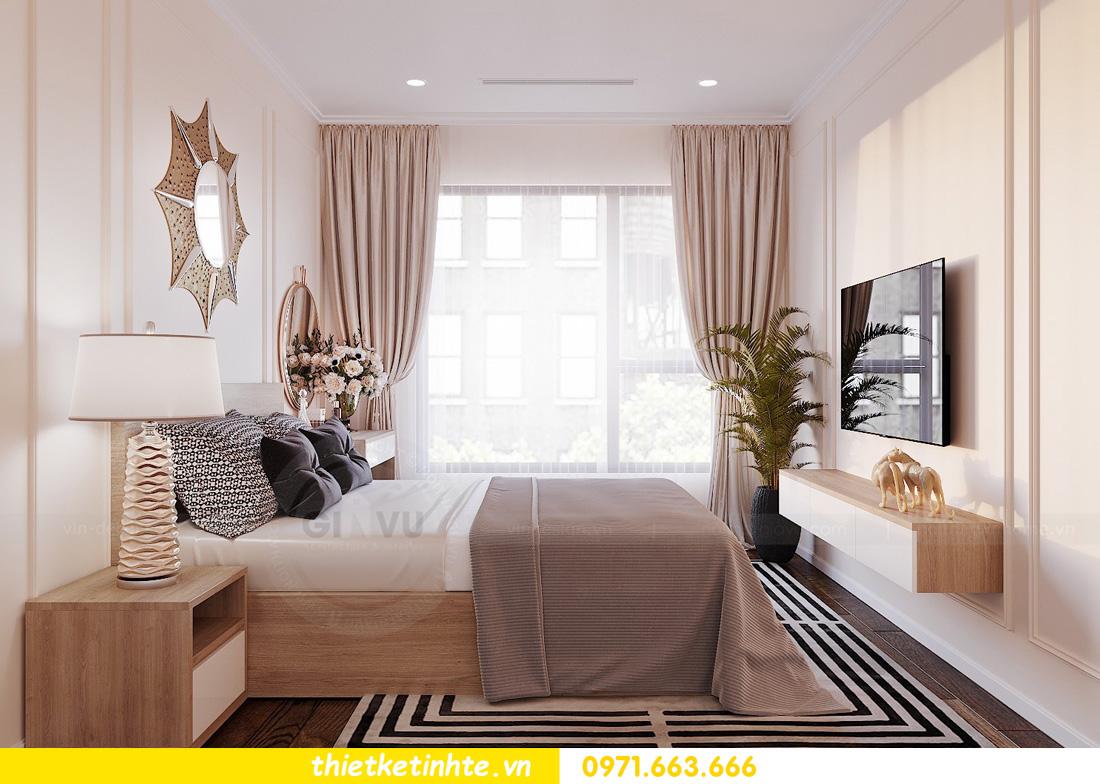 thiết kế nội thất chung cư Vinhomes Ocean Park đẹp hiện đại 08