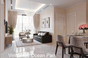 Thiết Kế Nội Thất Chung Cư Vinhomes Ocean Park đẹp Sang Trọng