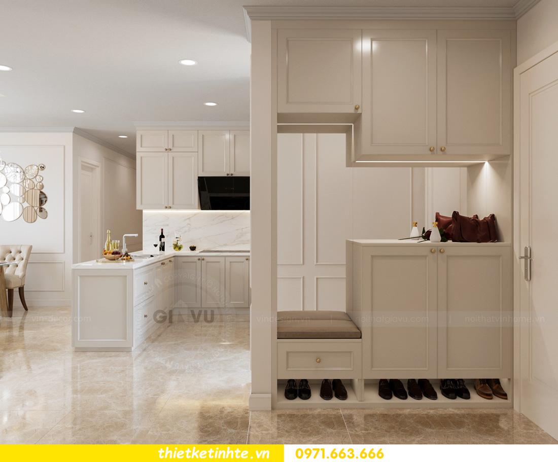 thiết kế nội thất chung cư Vinhomes Smart City nhẹ nhàng, hiện đại 01