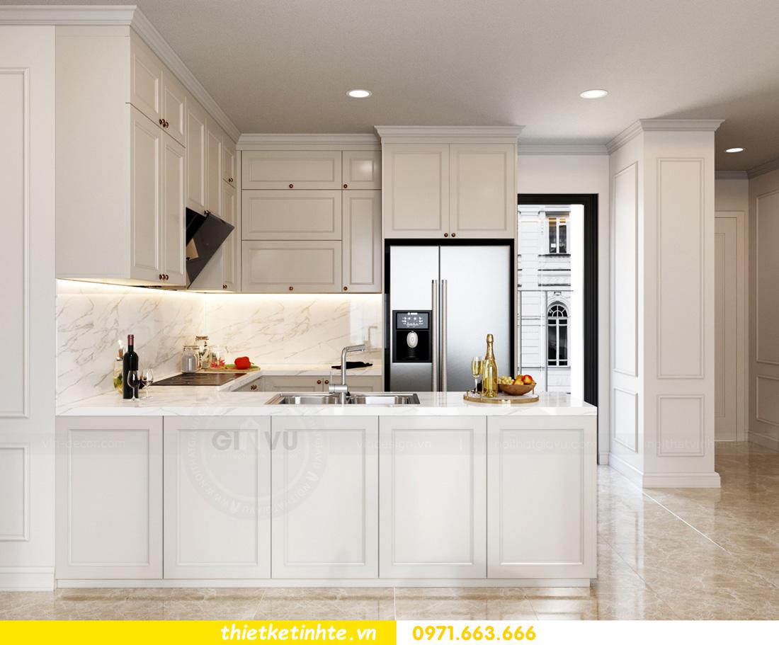 thiết kế nội thất chung cư Vinhomes Smart City nhẹ nhàng, hiện đại 02