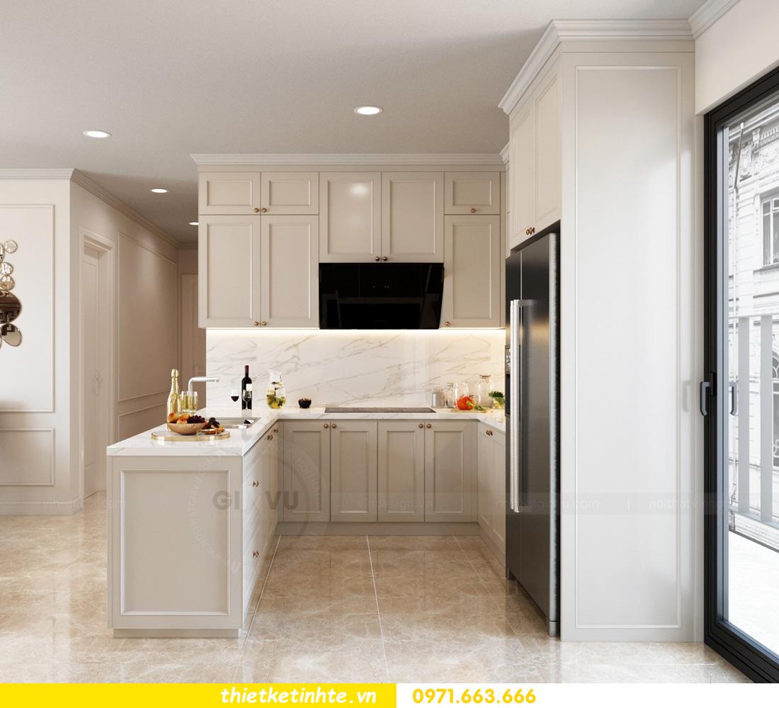 thiết kế nội thất chung cư Vinhomes Smart City nhẹ nhàng, hiện đại 03