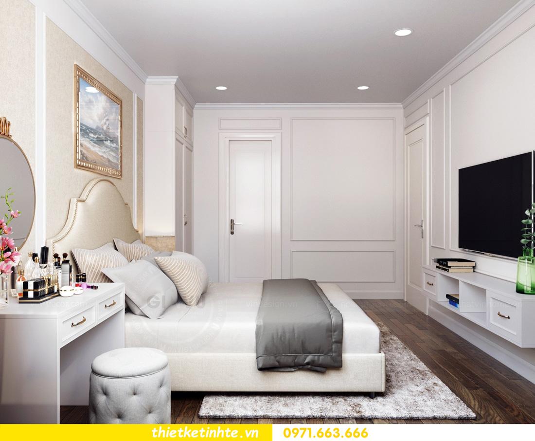 thiết kế nội thất chung cư Vinhomes Smart City nhẹ nhàng, hiện đại 06