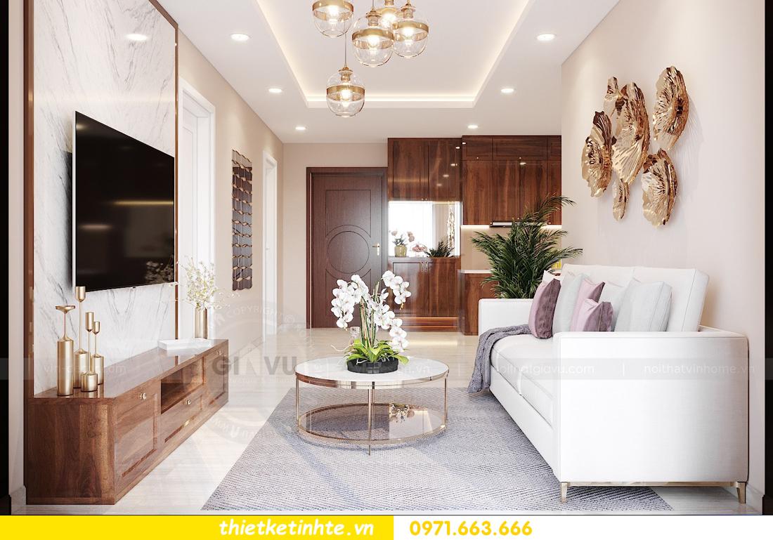 thiết kế nội thất chung cư Vinhomes West Point Đỗ Đức Dục 2