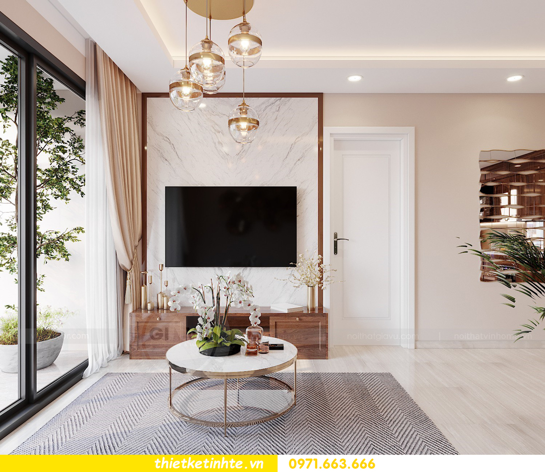 thiết kế nội thất chung cư Vinhomes West Point Đỗ Đức Dục 3