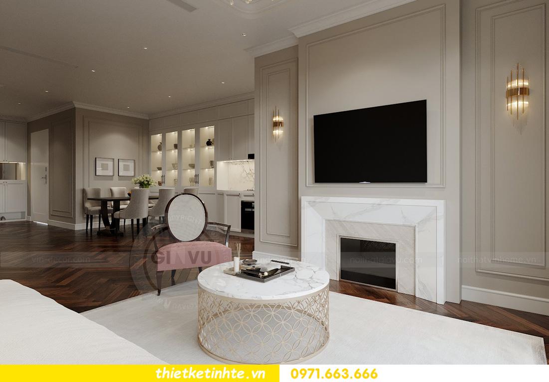 thiết kế nội thất chung cư West Point tòa W3 căn hộ 05A anh Hà 04