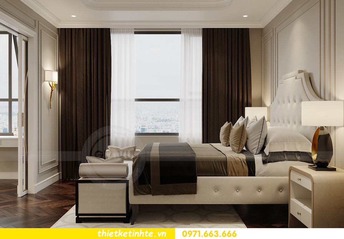 thiết kế nội thất chung cư West Point tòa W3 căn hộ 05A anh Hà 06