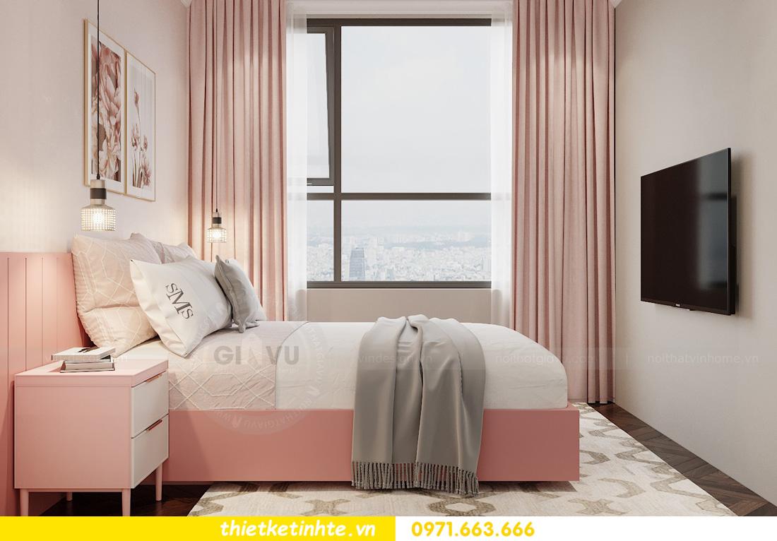thiết kế nội thất chung cư West Point tòa W3 căn hộ 05A anh Hà 11