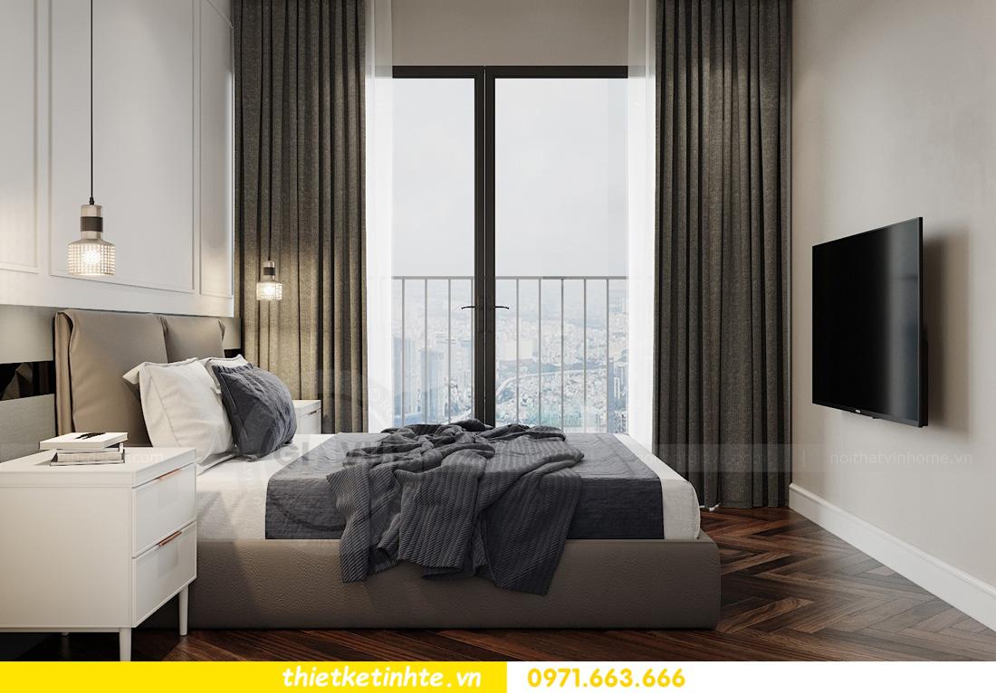 thiết kế nội thất chung cư West Point tòa W3 căn hộ 05A anh Hà 13