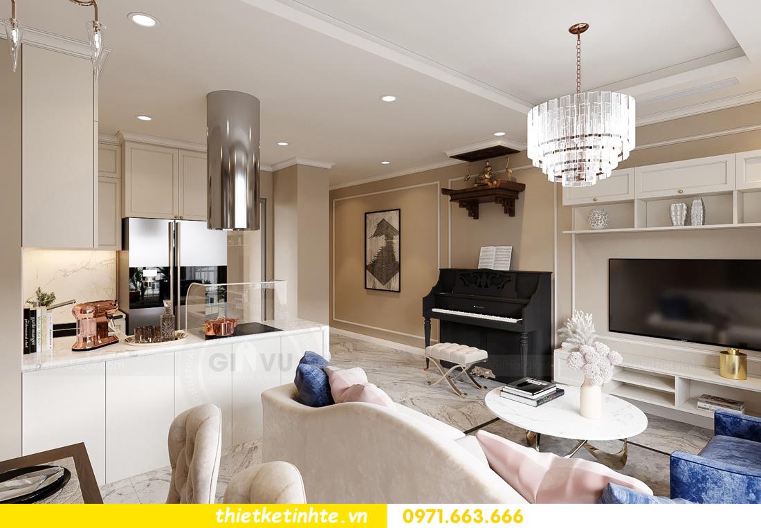 thiết kế nội thất tại chung cư West Point hiện đại sang trọng 03