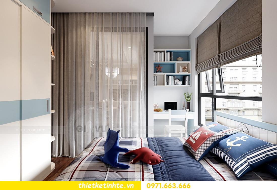 thiết kế nội thất tại chung cư West Point hiện đại sang trọng 11