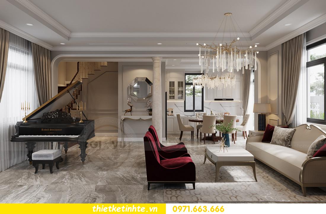 thiết kế nội thất biệt thự Vinhomes Green Villas Tây Mỗ - Anh Huy 02