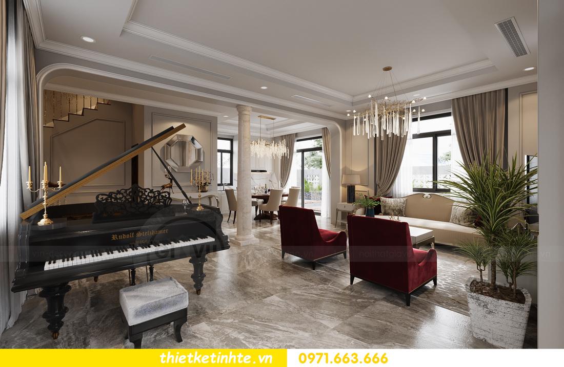 thiết kế nội thất biệt thự Vinhomes Green Villas Tây Mỗ - Anh Huy 03