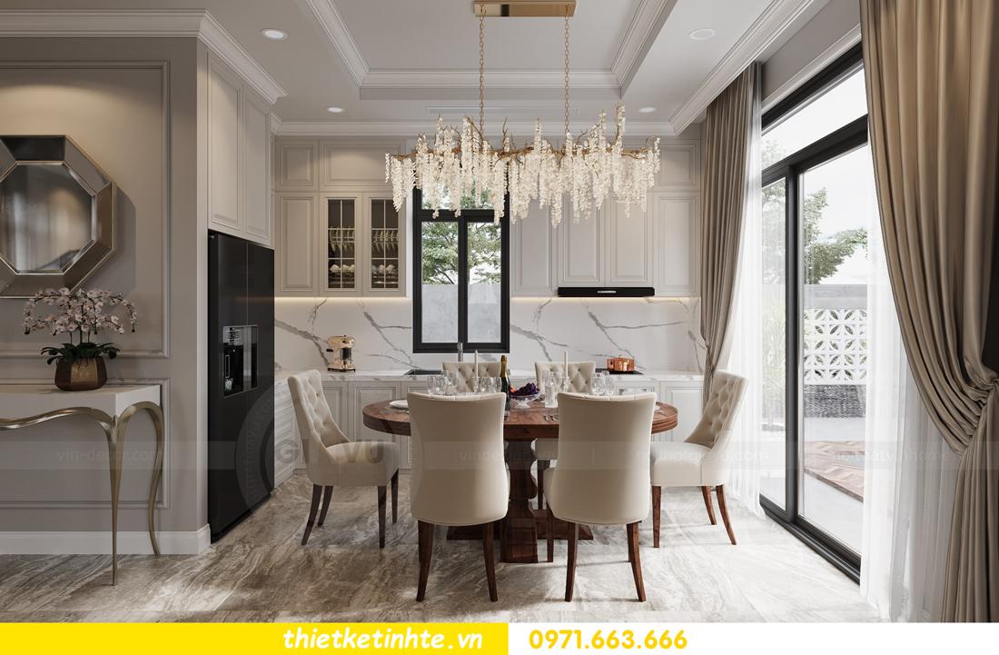 thiết kế nội thất biệt thự Vinhomes Green Villas Tây Mỗ - Anh Huy 06