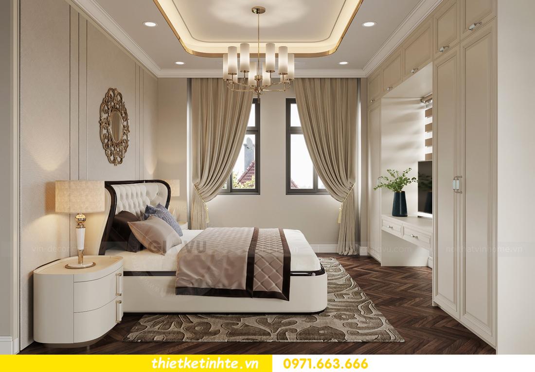 thiết kế nội thất biệt thự Vinhomes Green Villas Tây Mỗ - Anh Huy 07