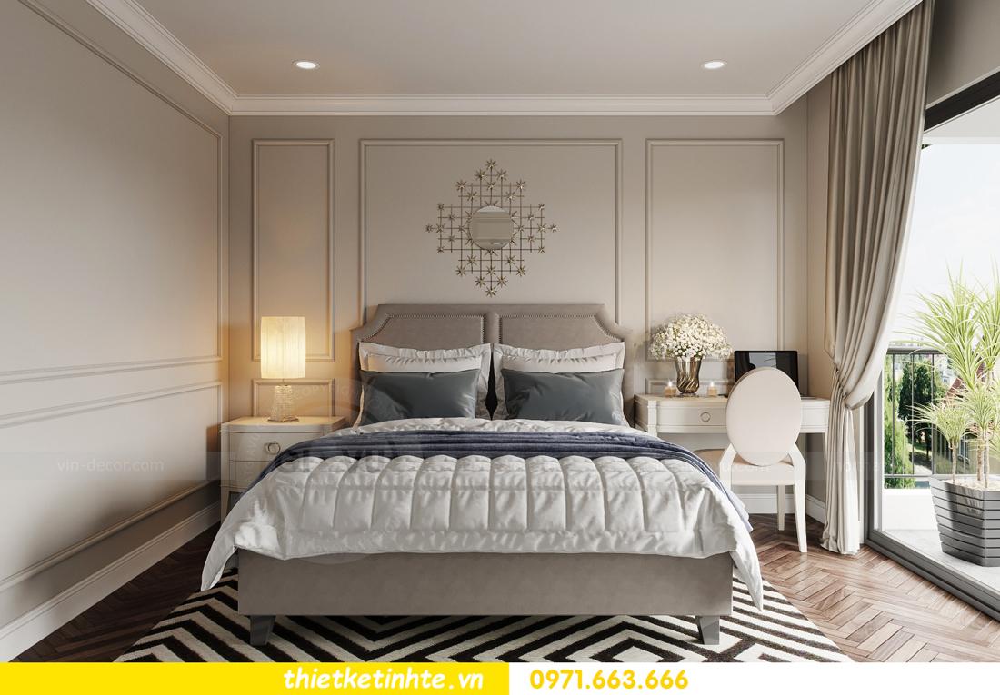 thiết kế nội thất biệt thự Vinhomes Green Villas Tây Mỗ - Anh Huy 11