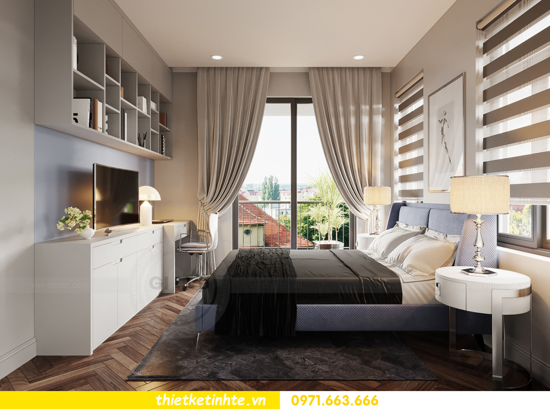 thiết kế nội thất biệt thự Vinhomes Green Villas Tây Mỗ - Anh Huy 12