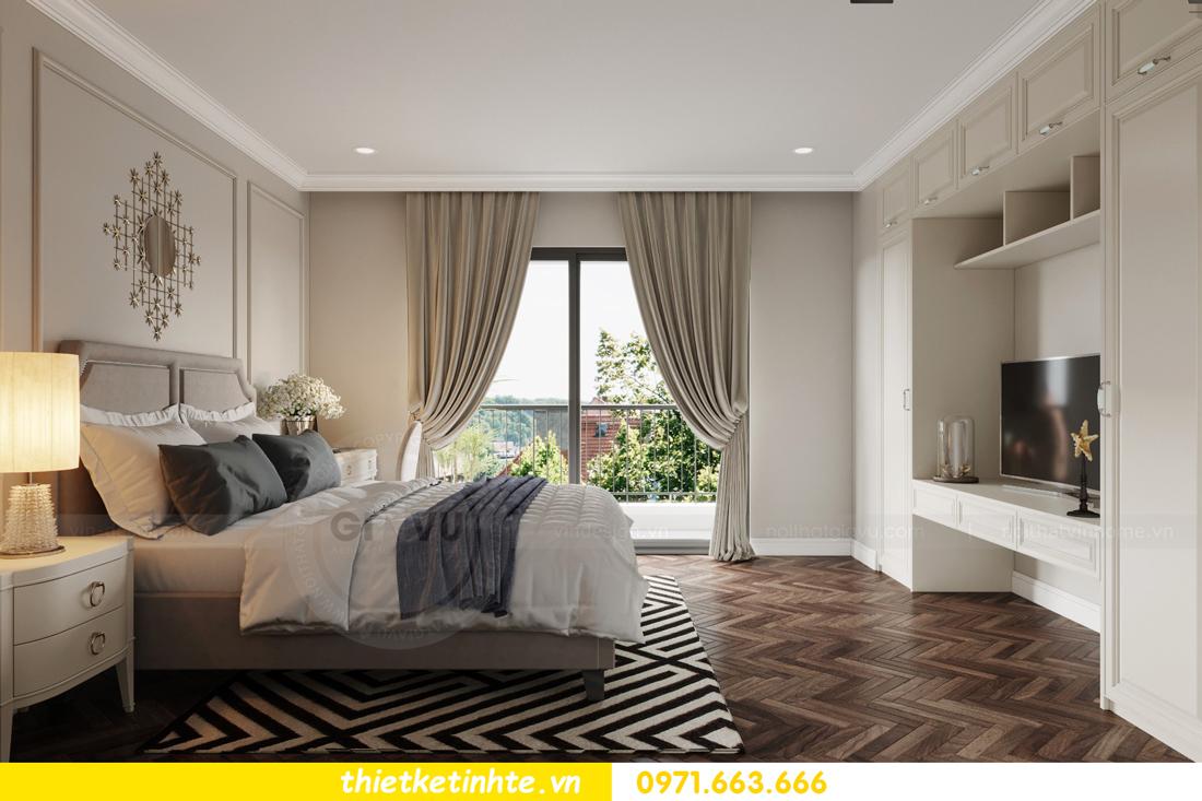 thiết kế nội thất biệt thự Vinhomes Green Villas Tây Mỗ - Anh Huy 16