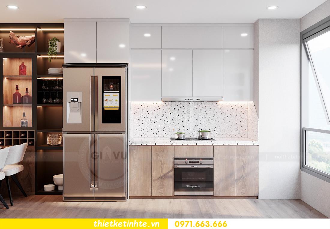 Thiết kế nội thất chung cư Smart City căn hộ 3 ngủ hiện đại 07