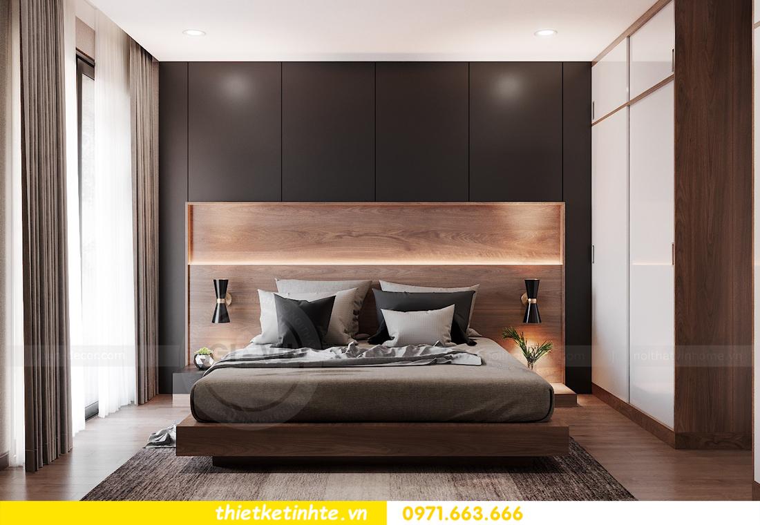 Thiết kế nội thất chung cư Smart City căn hộ 3 ngủ hiện đại 10