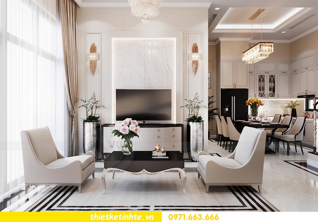 thiết kế nội thất biệt thự Vinhomes Ocean Park LK Sao Biển 04