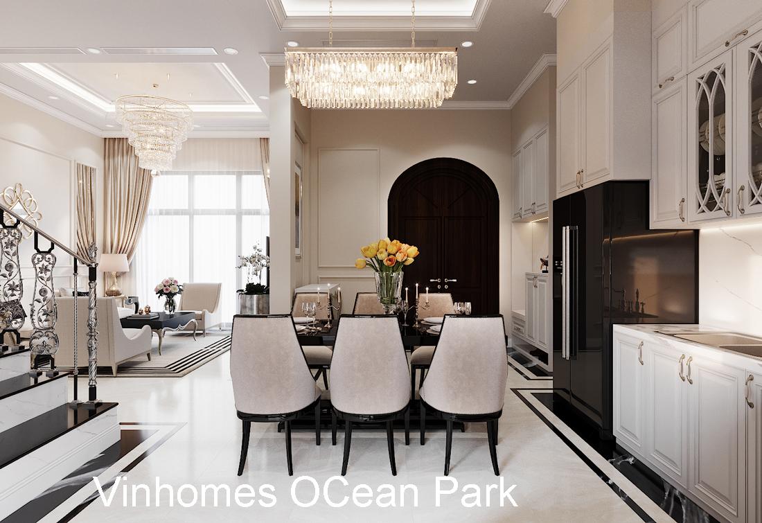 Thiết Kế Nội Thất Biệt Thự Vinhomes Ocean Park LK Sao Biển