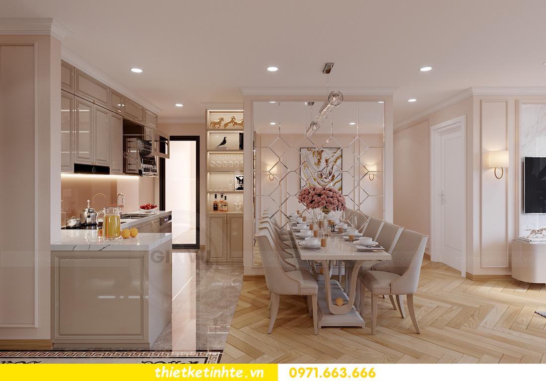 thiết kế nội thất căn hộ Vinhomes Smart City 3 phòng ngủ đẹp 03