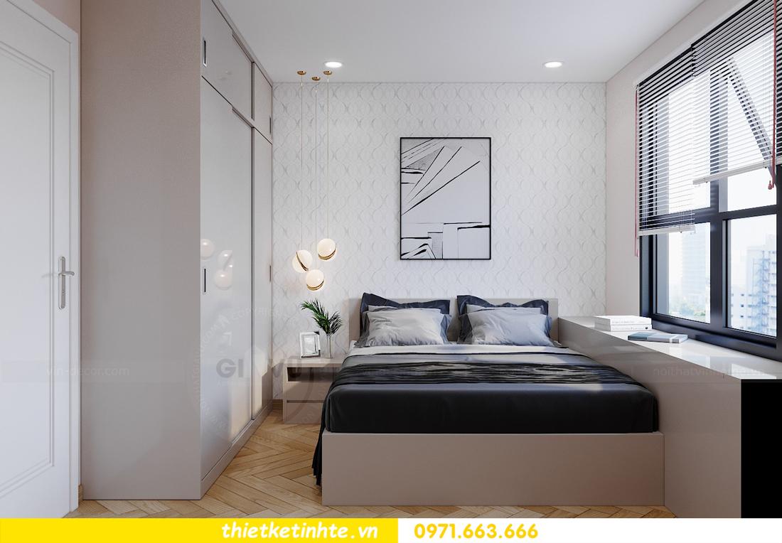 thiết kế nội thất căn hộ Vinhomes Smart City 3 phòng ngủ đẹp 10