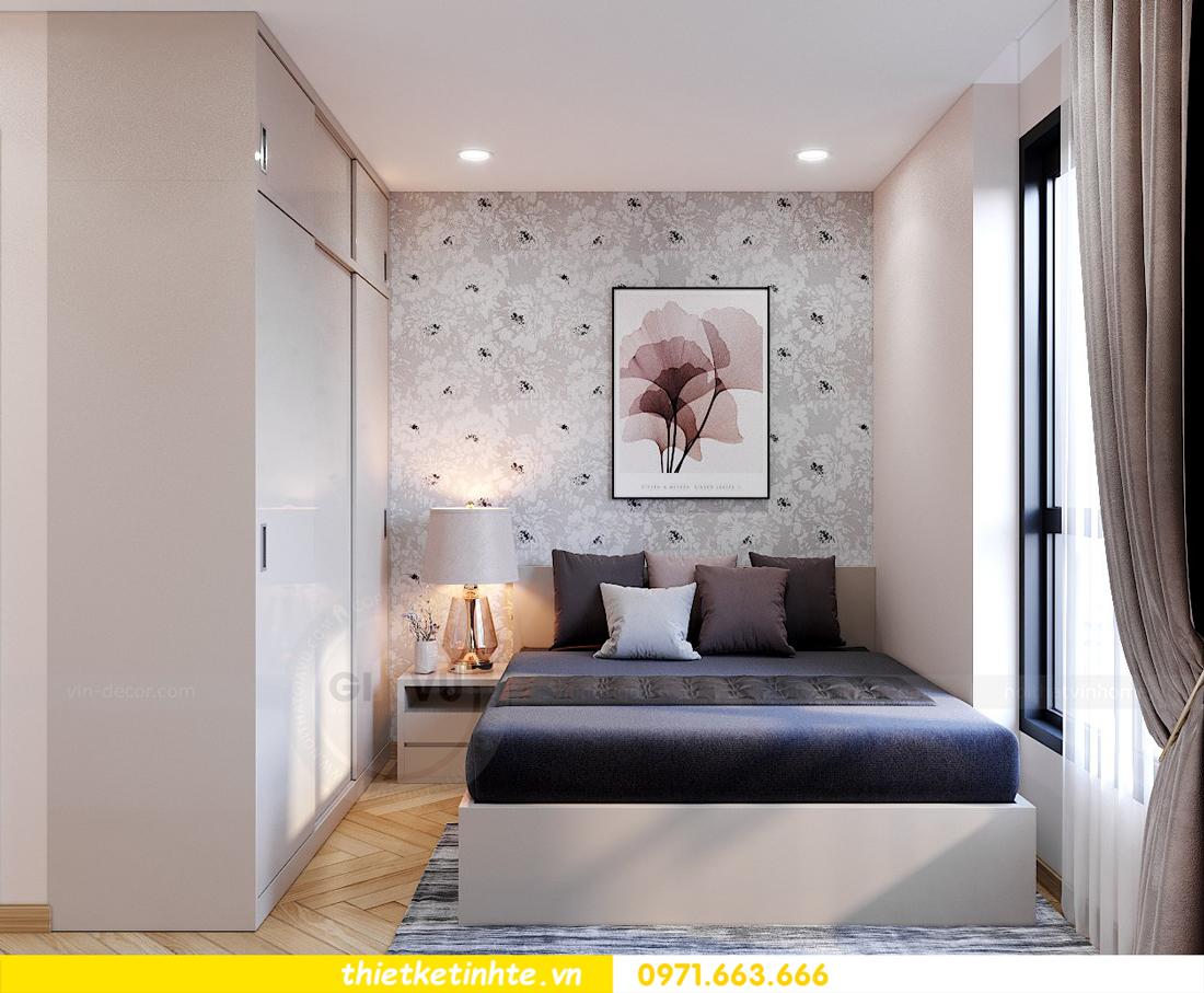 thiết kế nội thất căn hộ Vinhomes Smart City 3 phòng ngủ đẹp 13