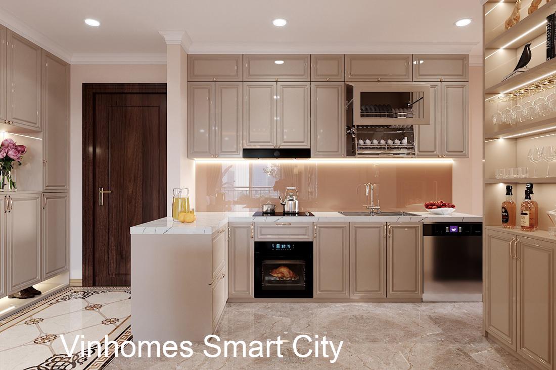 Thiết Kế Nội Thất Căn Hộ Vinhomes Smart City 3 Phòng Ngủ đẹp