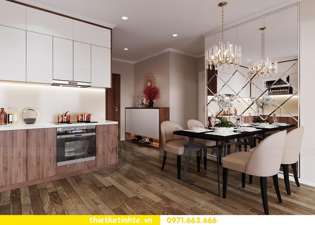thiết kế nội thất Vinhomes Đỗ Đức Dục tòa W3 căn 15A 01
