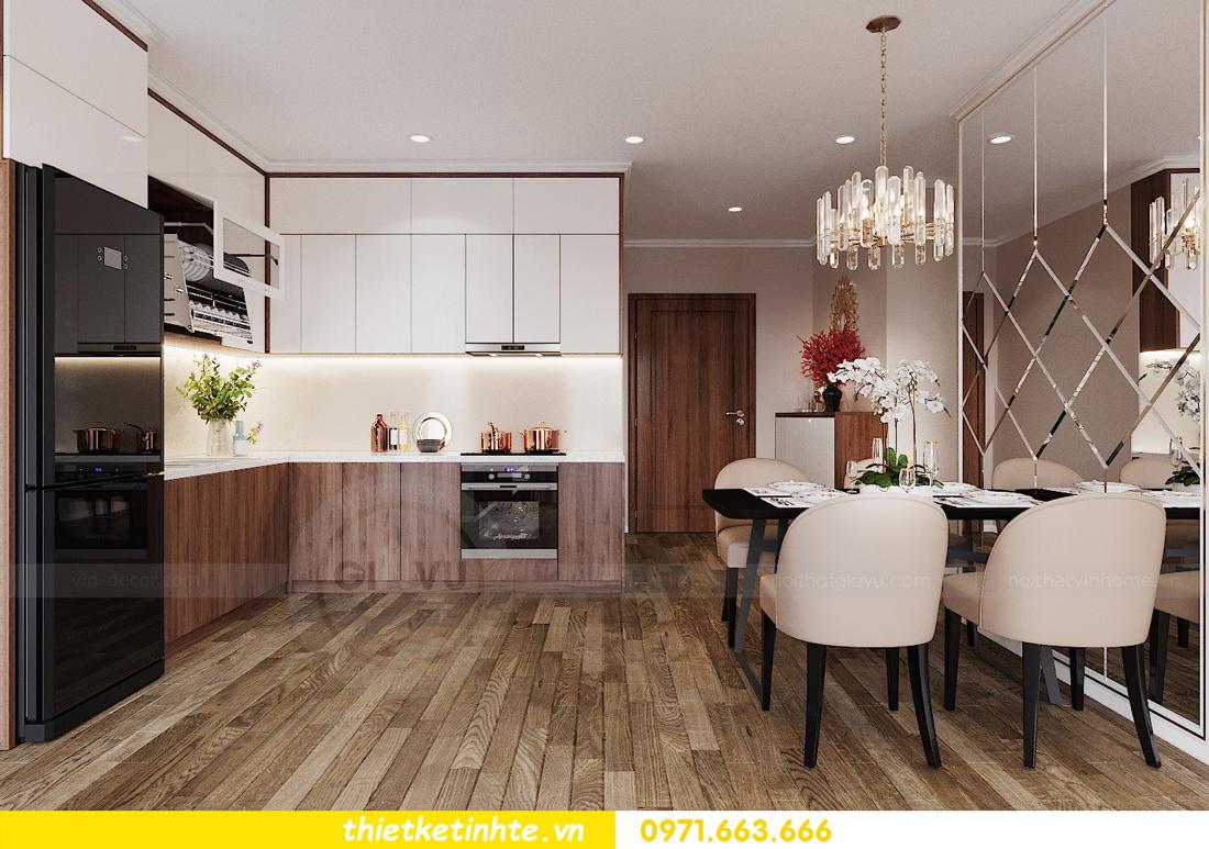 thiết kế nội thất Vinhomes Đỗ Đức Dục tòa W3 căn 15A 02