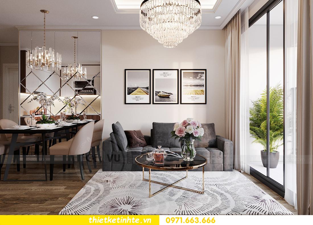 thiết kế nội thất Vinhomes Đỗ Đức Dục tòa W3 căn 15A 03