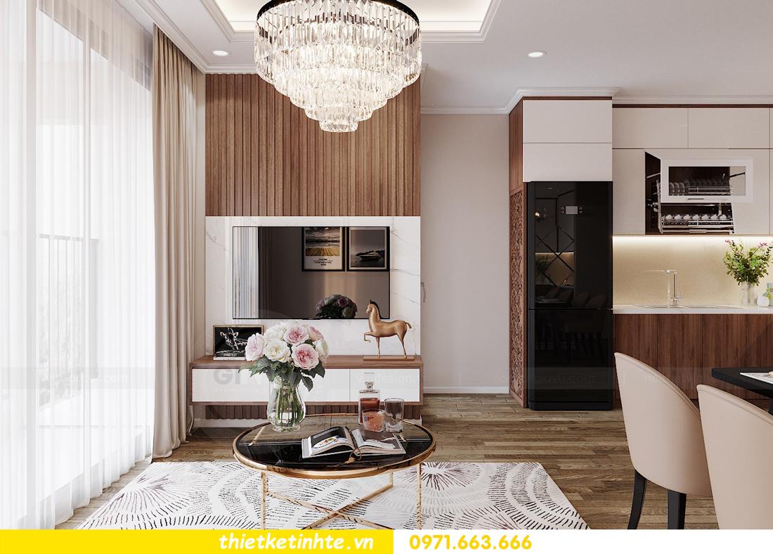 thiết kế nội thất Vinhomes Đỗ Đức Dục tòa W3 căn 15A 05