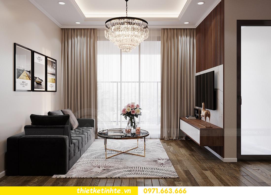 thiết kế nội thất Vinhomes Đỗ Đức Dục tòa W3 căn 15A 06