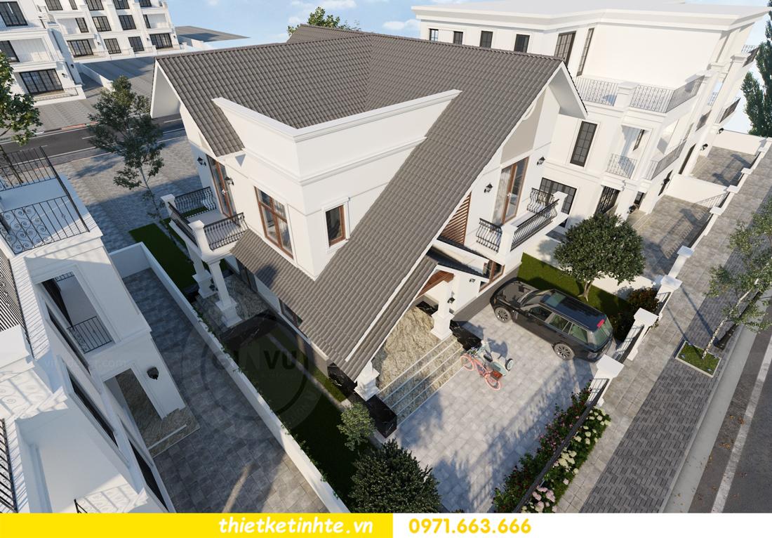 thiết kế kiến trúc biệt thự 2 tầng nhà anh Thanh 5