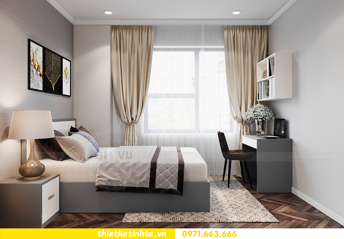thiết kế nội thất chung cư IA20 Ciputra Nam Thăng Long 11